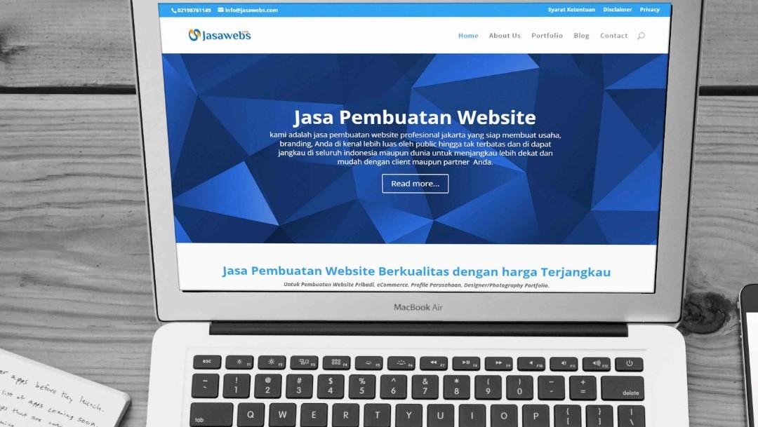 Jasa Pembuatan Website Wesbite Jakarta